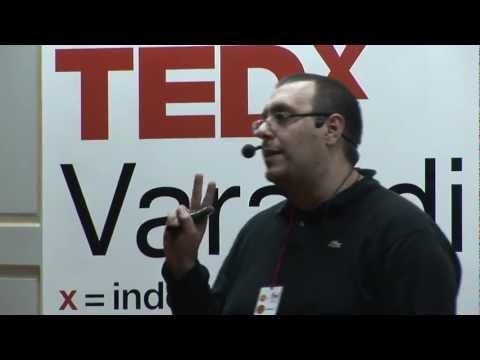 I have met my own worst enemy: Tonimir Kišasondi at TEDxVaraždin (TEDxVarazdin)