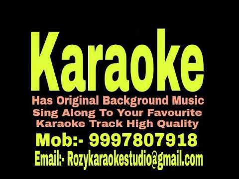 Dekho Dekho Jaanam Hum Karaoke - Ishq { 1997 } Udit Narayan & Alka Yagnik Track