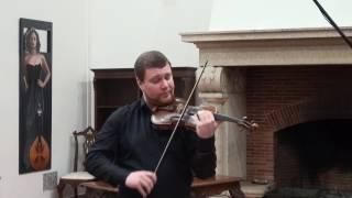 Ricardo Rupp Salavessa plays Tchaikovsky's Violin Concerto, 1st Mvt.