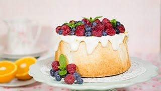 Angel Food Cake – Receta – María Lunarillos | tienda & blog