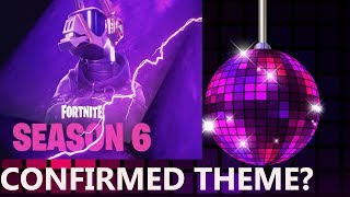 FORTNITE SEASON 6 BATTLE PASS SKIN LEAKED & DISCO PARTY THEME? ( SEASON 6 TEASER/LEAK DISCO LLAMA)