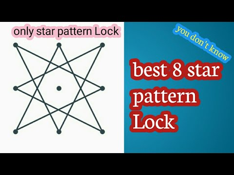 Top 8 Star Pattern Lock Youtube