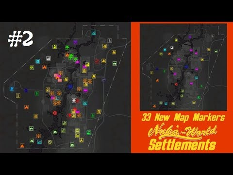 Fallout 4 - мод - Nuka World Settlements #2