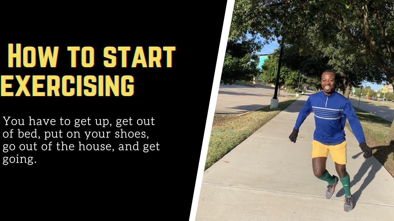 One easy way to start exercising