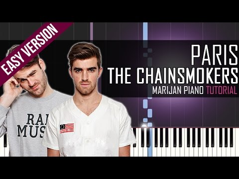 how-to-play:-the-chainsmokers---paris- -piano-tutorial-easy