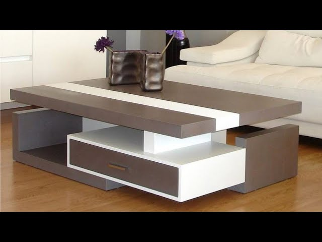100 Diy Coffee Table Designs For Modern, Modern Table For Living Room