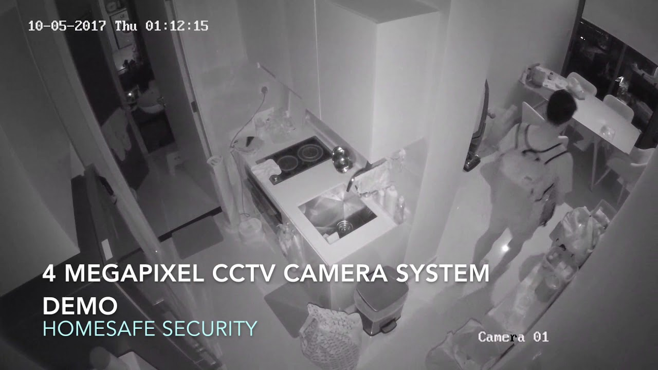 Home CCTV Camera Systems Demonstration