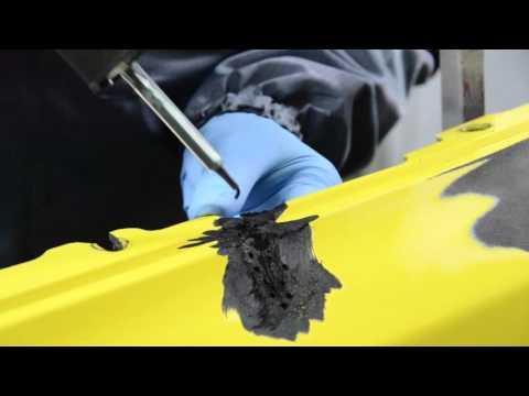 Kunststofreparatie: Scheur in bumper repareren