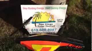 AR Drone Solar Install Video 6kW. 24 Enphase M250's with LG Mono X panels.