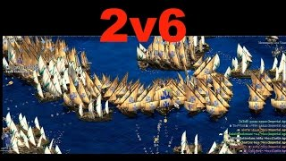TaToH & TheWink vs 6  King of The Hill - Age of Empires 2