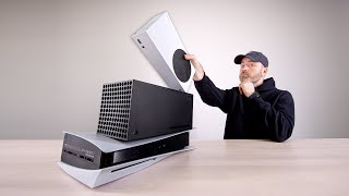 Xbox Series S Unboxing (Console Size Comparison)