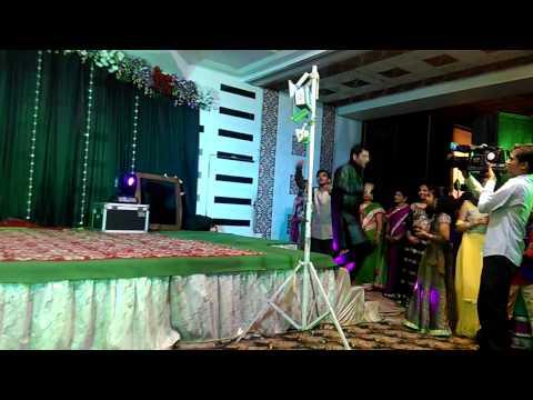 The Groom(mehul)and Bride(pallavi) 😍