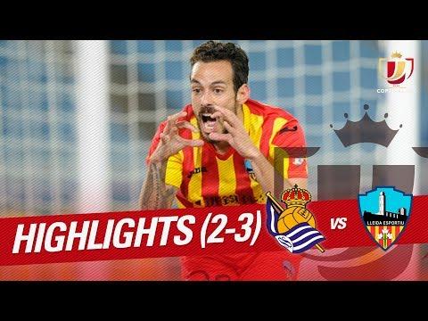Resumen de Real Sociedad vs Lleida Esportiu (2-3)