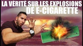 Pourquoi les cigarettes électroniques explosent ?
