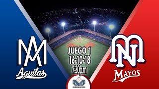 Aguilas de mexicali vs Mayos de Navojoa  pt1 j2 LMP