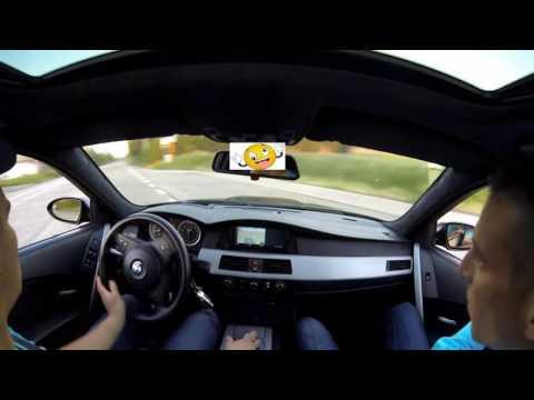 BMW M5 STREET DRIFT POWERSLIDE \u0026 Acceleration Sounds @ Onboard бмв м5 дрифт