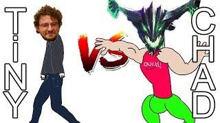 Actual Chad vs Gorgc on Mid - Tiny 7.23 Gameplay