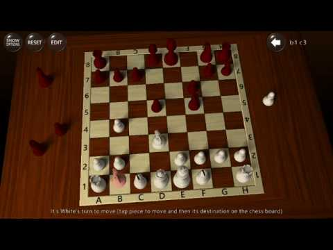 3D Chess Game (by A Trillion Games Ltd) - board game for android - gameplay.