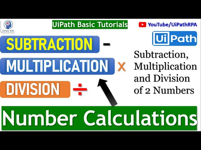 Calculation in UiPath |UiPath RPA Tutorial in Hindi