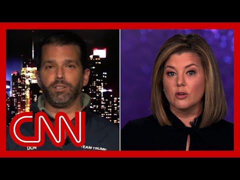 'A slap in the face': Keilar slams Trump Jr. for false claim