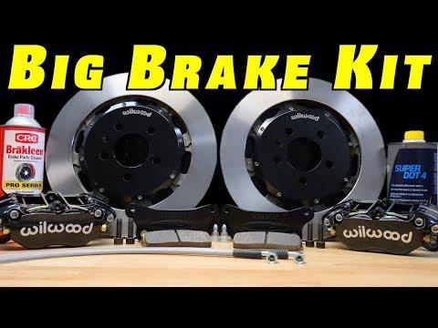 Brake Upgrade ~ How To Install a Big Brake Kit