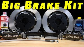 Brake Upgrade ~ How To Install a Big Brake Kit