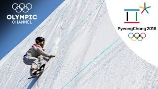 Jamie Anderson's Snowboard Highlights | Pyeong Chang 2018