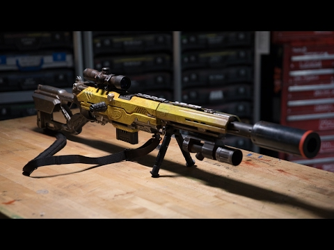 Thumbnail: Adam Savage's One Day Builds: Custom NERF Rifle