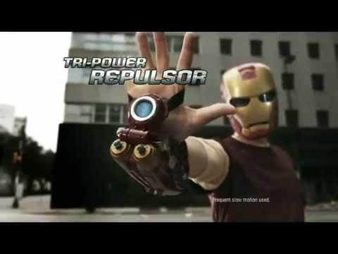 THE AVENGERS - IRON MAN Triple Threat Repulsor Blast.mp4