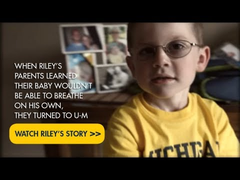 Riley's Story: Congenital Diaphragmatic Hernia on YouTube