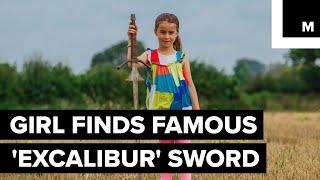 'Excalibur' sword found