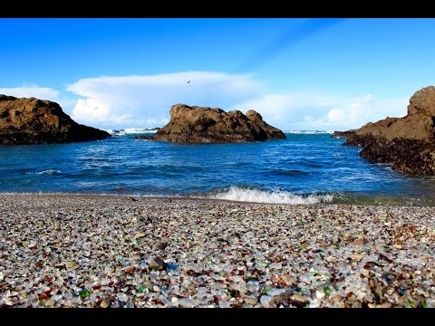 Glass Beach and Point Cabrillo Light Station, Ft Bragg, California