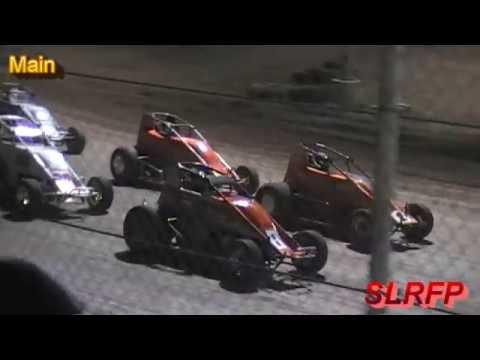 8 6 16 Willamette Speedway Wingless Sprint Series Main