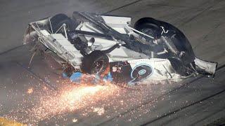 NASCAR driver Ryan Newman hospitalized after Daytona 500 crash