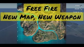Free Fire - New Map, New Weapon