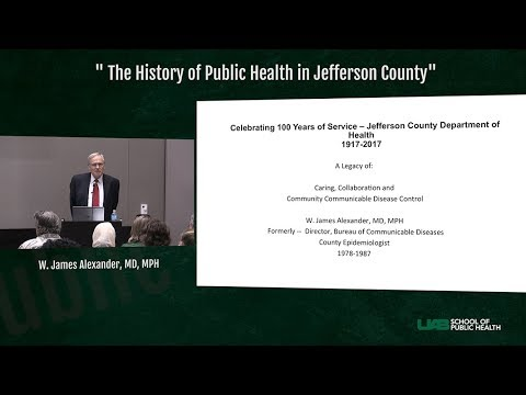 UAB School of Public Health - Public Health Grand Rounds - September 8, 2017