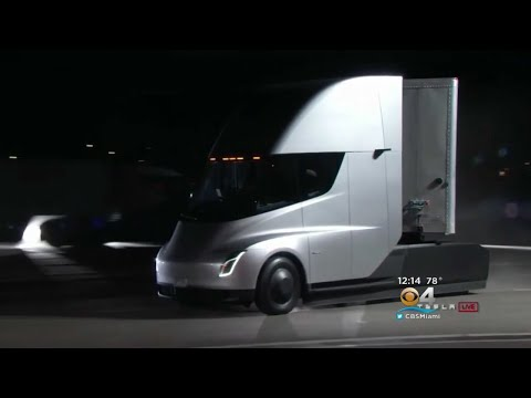 Tesla Getting Into Big Rig Business With Electric Semi-Truck