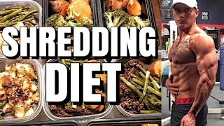 Remington James | Summer Shredding Diet | Meal By Meal