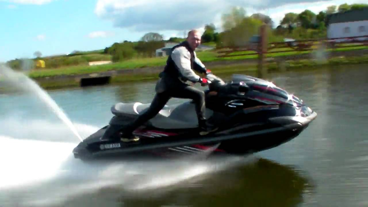 Pat Posing On Yamaha S Fzs Supercharged Jetski Youtube