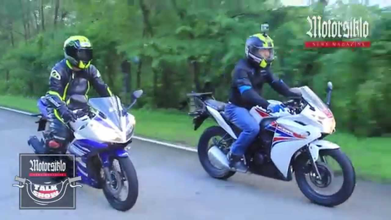 bike shoot-out: the honda cbr 150r & the yamaha yzf-r15 - youtube