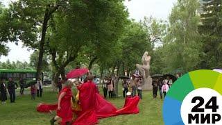 В Алматы музеи вышли на улицы - МИР 24