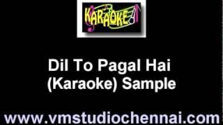 Hindi Karaoke - Dil To Pagal Hai
