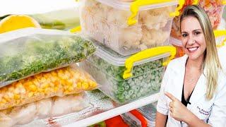 Como Congelar Legumes e Verduras e Economizar