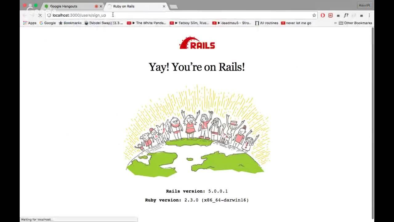 Rails form helpers - YouTube