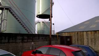 Oil tank at the Kirkwall depot