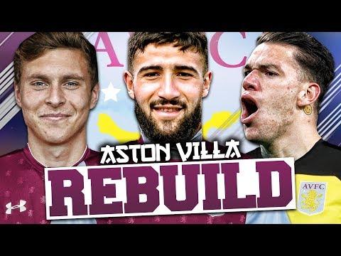 REBUILDING ASTON VILLA!!! FIFA 18 Career Mode