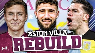 REBUILDING ASTON VILLA!!! FIFA 18 Career Mode