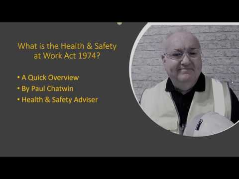 what-is-the-health-and-safety-at-work-act-1974