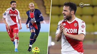 Cesc Fàbregas rolls back the years in epic Monaco comeback against PSG