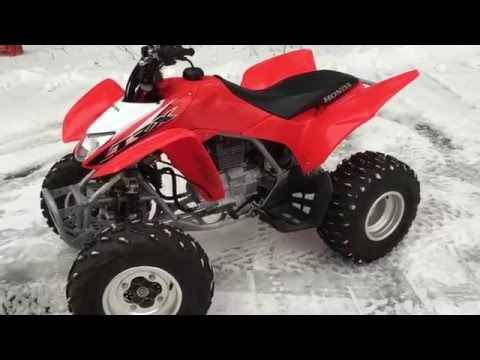 How To Use The Honda TRX 250X SportClutch - What does It Do